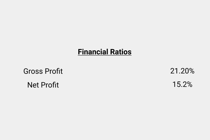 QView Report Financial Ratios